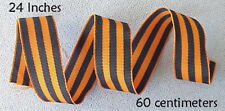 60cm RUSSIAN IMPERIAL  WWI WAR RIBBON GEORGE SOVIET WWII ORDER MEDAL AWARD BADGE