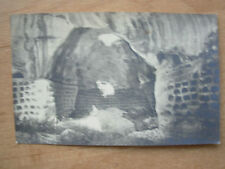 VINTAGE WWII POSTCARD HEBRON COLUMBARIUM PALESTINE ARCHAEOLOGICAL MUSEUM 1944