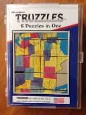 Truzzles Wooden Puzzle ~ 6 Puzzles in One