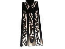 Easy Attached Zebra Stripe Design Adjustable Braces 012
