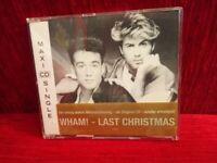 CD SINGLE Wham! George Michael Andrew Ridgely Last Christmas Epic 653185 2