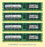 Server RAM 4x 8GB PC3-10600R ECC REG DDR3 1333MHz RDIMM Memory HP 500205-371