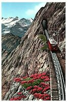 Lot 2 Switzerland - Pilatusbahn, Pilatus Railway Vintage Postcard 1957
