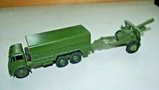 Dinky 622 Foden 10 Ton Army truck and Field Gun 1960's