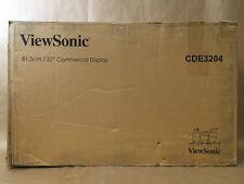 "ViewSonic CDE3204 32"" 1080p Commercial Signage Display HDMI/DVI/VGA ✅WARRANTY"