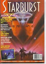 Starburst Number 134 Fantastic Media Magazine, Batman, Star Trek V, Doctor Who