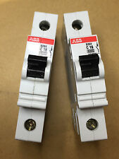 10 X ABB S251-C16  (NEW)  Circuit Breaker Single Pole - 230/400V 16AMP