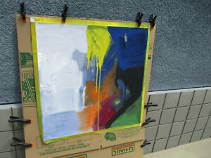 Willem De Kooning Authentic Painting (Oil on Canvas)