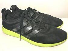 Adidas Adiprene+ Athletic Shoes Mens Size 15 Black Neon Yellow Green Sole