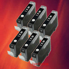 6 CLI-8 BK BLACK INK FOR CANON MP830 MP960  iP4500