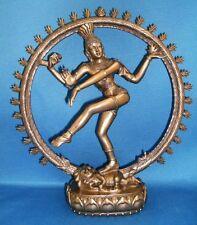 SALE! Hindu God Shiva as Nataraja Dancing in Flames Statue Figure #8198