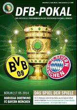 DFB Cup Final 17.05.2014 Borussia Dortmund - Bayern Munich inclusive Poster