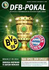 DFB-Pokalfinale 17.05.2014 Borussia Dortmund - Bayern München inklusive Poster
