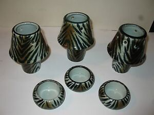 "9 piece "" Tiger"" Candle Set"