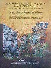 1980 PUB CANADIAN MARCONI POSTE RADIO AN/GRC-103(V) MULTIPLEXER TD-5064(V)/U AD