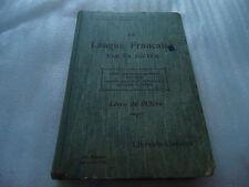 LIVRE - LA LANGUE FRANCAISE PAR LA DICTEE - livre de l'élève - 13ème édition
