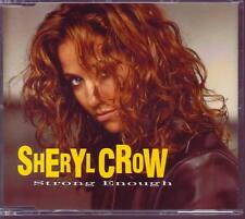 SHERYL CROW Strong Enough RARE GERMANY CD single 3 LIVE