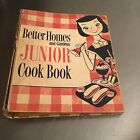 Vintage BETTER HOMES AND GARDENS JUNIOR COOK BOOK 1955 3-Ring First Edition
