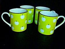 LENOX Kate Spade New York ~ Wickford Orchard ~ 4 Mugs-New