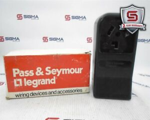 Pass & Seymour Legrand 388 Dryer Receptacle 30A 125/250V Surface Mount
