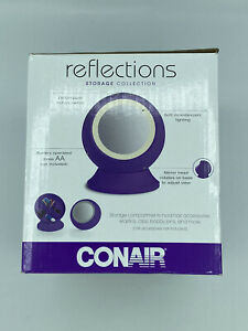 Conair Reflections Storage Collection Mirror 3x Magnification Brand New