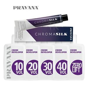 PRAVANA CHROMASILK Permanent Creme Hair Color 3oz (NEW!) (CHOOSE YOURS)