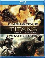 Clash of the Titans / Wrath of the Titans Blu-ray 2-Disc Set 2014 Sam Liam Ralph