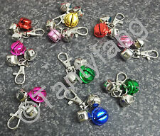 TYPE 4 ~ SECURITY ANTI-THEFT JINGLE BELLS~HANDBAG~WALLET~PURSE~CATS~DOGS