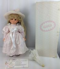"""GOTZ 1993 Exclusive Germany Doll ARTIST SIGNED Aileen 19"""" Girl Limited RARE"""