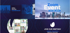 Adobe Effect Template Zoom Meeting Video Conference Online WIN.10 MAC OS