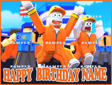ROBLOX JAILBREAK: Personalized edible cake images  FREE SHIPPING in Canada