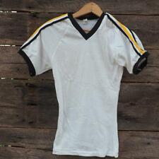 Bike Single Knit Short Sleeve T Shirt Size XS Vtg 1980's 1970's Raglan Deadstock