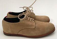 Men's Ben Sherman Martin Sand Tan Suede Oxfords Shoes Size 40 US 7