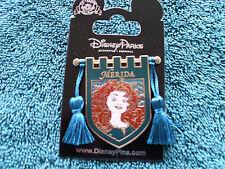 Disney * PRINCESS MERIDA * Tapestry Banner Series * New on Card Trading Pin