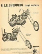 1970 A.E.E. Choppers Trend Setters - Vintage Motorcycle Ad