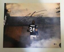 Charles Woodson Signed Autographed 11x14 Photo Oakland Raiders BECKETT BAS COA
