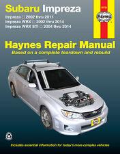 NEW HAYNES WORKSHOP SERVICE REPAIR MANUAL Subaru Impreza WRX STi 2002-2104