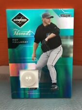 2005 Donruss Leaf Limited Roy Halladay Button #'d 6