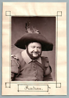 France, Paris, Théâtre, Acteur Pradean  Vintage print.  Photo glyptie  8,5x1