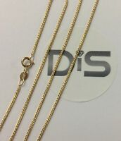 "375 9ct Yellow Gold Spiga Necklace, 16"" 18"" 20"""