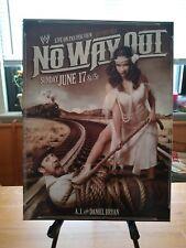 """WWE No Way Out Poster Print AJ Lee Daniel Bryan 12""""x16'"""