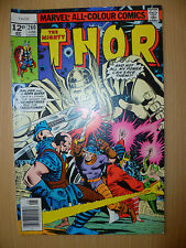 THE MIGHTY THOR Marvel Comics, JUNE, 1977 Issue, Vol.1, No.260