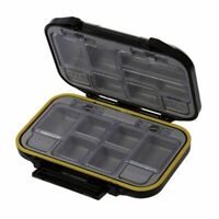 12 Compartments Storage Case Fly Fishing Lure Spoon Hook Bait Tackle Box Wa R2B8
