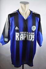 Colorado Rapids Trikot 2005-2006 Home Gr. 2XL Adidas MLS Jersey blau USA Soccer