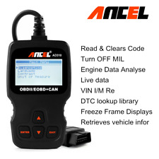 OBD2 Code Reader Check & Erase Car Engine Fault Codes Universal Diagnostic Tool