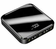 900000mAh Power Bank 2USB Portable External Battery Backup Charger Fast Charging