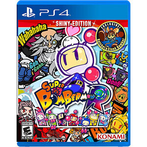 Super Bomberman R: Shiny Edition Playstation 4 [Brand New]