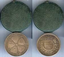 Médaille de table - AMIENS 1901 société industrielle Marthe DEVALLOIS argent 25g