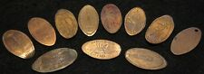 11 Various Theme Elongated Coins in Extremely Good Condition Nice Collection!