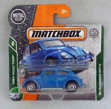 Matchbox MB16 '62 Volkswagen Beetle Blue Short Card